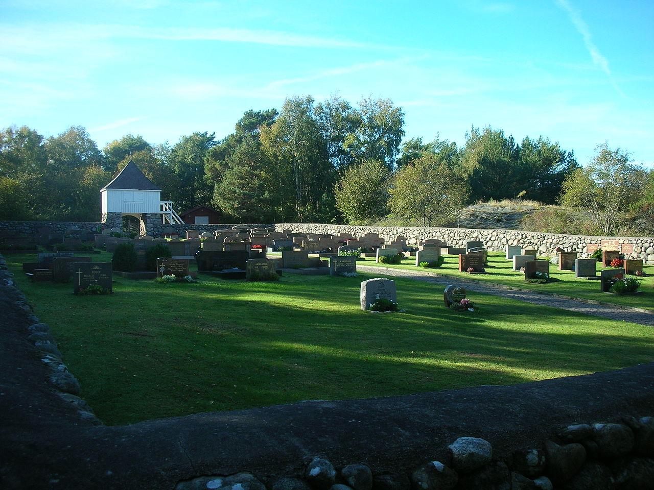 Kyrkogårdarna på Vrångö