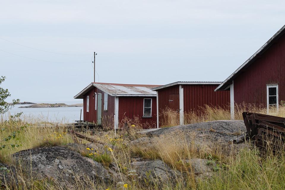 Kårholmen – en av Vrångös grannöar